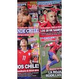 Revistas Deporte Total -selecion Chilena- 2013-2014 (4 )