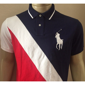 Camiseta Polo Ralph Lauren Custom Fit Bordada Original