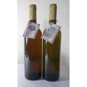 Vinho De Laranja E Vinho De Bergamota 750ml- Kit 02 Garrafas