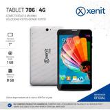 Celular Telefono Tablet 7 Dual Sim Xenit 4g Gps Satelital