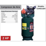 Compresor Vertical De 150 Litros 2hp