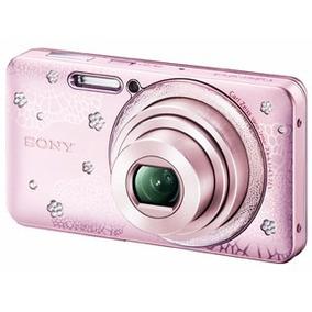 Câmera Sony Cyber-shot Stras Dsc-w570 16.1mp, Filma Em Hd