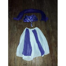 Disfraz Odalisca Traje Danza Arabe Nena 6/8 Año Dia Del Niño