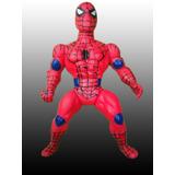 Muñeco Spiderman Grande De Goma Caucho