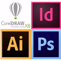 Curso Corel Draw X7, Photoshop, Illustrator, Indesign +bônus