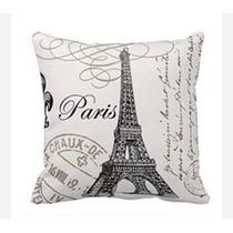 Funda Para Cojín Decorativo Modelo París Set De 5 Piezas