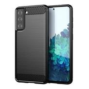 Funda  Para  Samsung S21 S21 Plus S21 Ultra Carbono