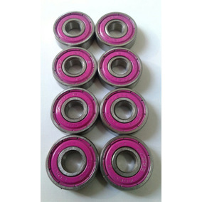 Kit 8 Rolamentos Abec 15 Skates,patins,long.