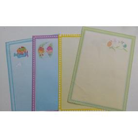 4 Papéis De Carta Antigo - Coleção Anos 80/90