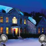 Projetor Laser Natal Casa Arvore Luz Natalino Desenhos