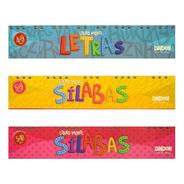 3 Libros Móviles: Letras + Sílabas De 3 + Sílabas De 4
