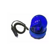 Baliza Rotativa Giratoria Imantada 12v Auto Camioneta Azul
