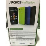 Archos 51 Titanium En Caja 4g Nuevo En Caja Libre Anda Wats