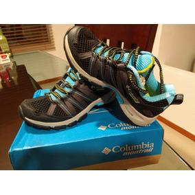 Zapatos De Montaña Para Mujer, Columbia Montrail. Talla: 35