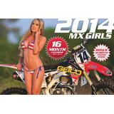 2014 Mx Meninas De Biquíni Calendário Do Motocross, Superc