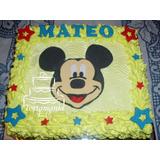 Torta Mickey O Minnie Baby. Diseños En Azúcar $ X Kilo