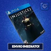 Pré-venda - Injustice 2 Ps4 Código 12 Dígitos Mídia Digital