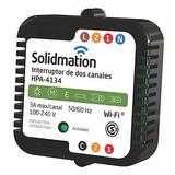 Interruptor Solidmation Wifi 2 Canales Domotica Desde Celu
