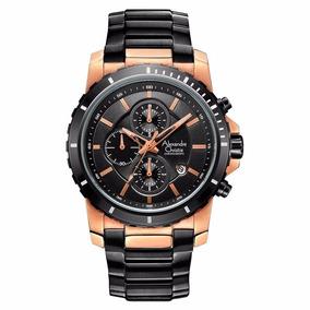 Reloj Alexandre Christie Sport Crono Steel 6141mcbbrba