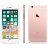 Iphone 6s 32gb Rose Lacrado 1 Ano De Garantia