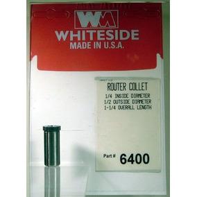 Whiteside Fresas 6400 Acero Router Collet Con 1/4-pulgadas D