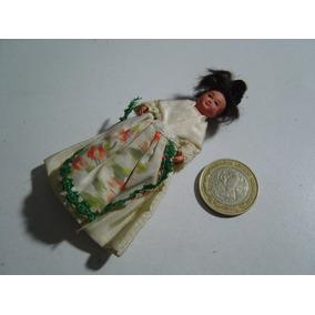 Antigua Muñeca Muñequita Celuloide Sololoy Miniatura