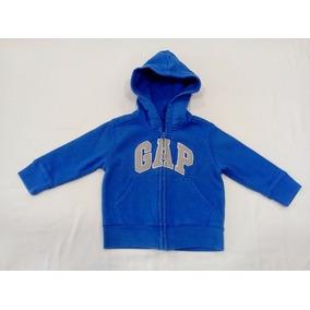 Blusa De Moletom Gap Original Tam 18 A 24 Meses Azul
