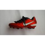 Zapatos Futbol Campo Tacos Nike T90 Talla Niño