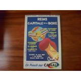 Poster De La Pelea Laciar Vs Roman 1987. Boxeo