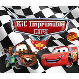 Kit Imprimible Cars Candy Bar Golosinas Editable Tarjetas