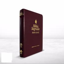 Bíblia Sagrada E Harpa Cristã A.r.c Vinho