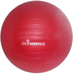 Balón Pilates 75cms Anti Pinchazo Con Bombin Rojo-946
