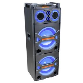 Caixa De Som Amplificadora Bluetooth 600w Rms Lenoxx Ca3600