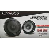 Bocinas Kenwood De 6.5 Kfc-1666s 300watts Nueva