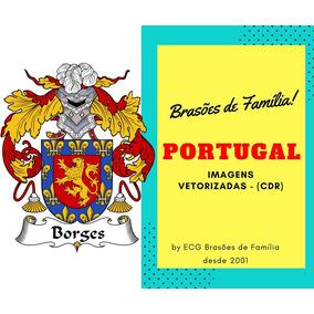 Brasão De Famílias Portuguesas Em Alta Definição Corel Draw