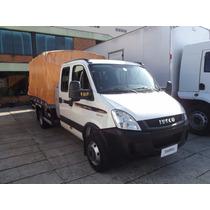 Iveco 70c17 Cabine Dupla 2014 Carroceria 3,80 Financia 100%