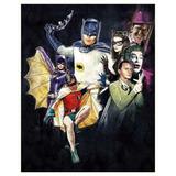 Poster Batman E Robin Serie Da Tv Antigo Arte Retro A3