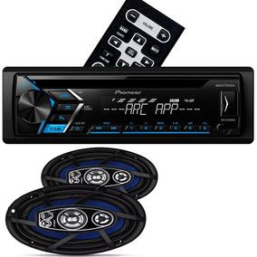 Par Alto Falantes 6x9 Pol Orion + Cd Player Pioneer Rádio