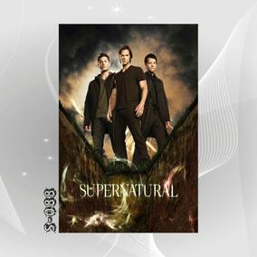Poster Filme Seriado Supernatural Sobrenatural U1v Decoracao