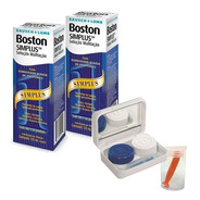 Boston Simplus  120ml   2 Caixas + Estojo Com Ventosa