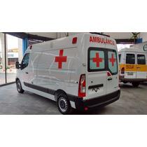 Renault Master 0km 17/18 Ambulância Uti