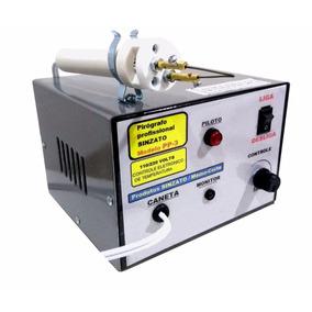 Pirógrafo Madeira Profissional Gravador Bivolt 0 A 50 Watts