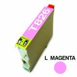 Cartucho Para Epson 826 Light Magenta Alternativo