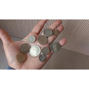 Lote Coleção 10 Moedas Antig Brasileiras Disponiveis Raras