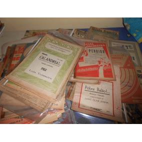 Partituras Musicais Anos 30, 40 E 50 Vários Estilos