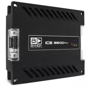 Modulo Amplificador Digital Banda Ice 3500 Watts Rms 2 Ohms