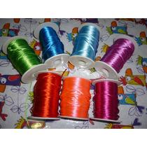 Cordón Cola De Rata, Varios Colores Saldo, Lote Completo 2mm