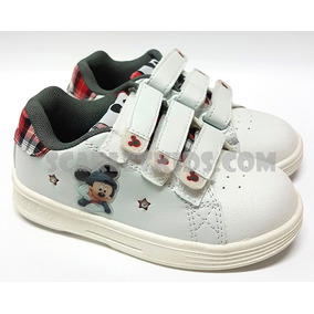 Zapatillas Mickey Con Luces Disney Originales