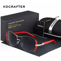 Óculos De Sol Luxo Feminino Oval Hdcrafter - Frete Gratis