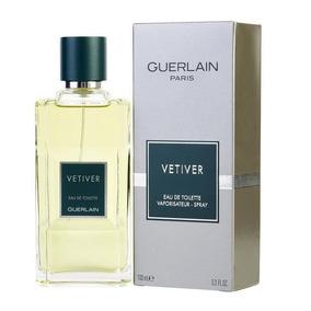 Perfume Vetiver By Guerlain Masculino Edt 100ml Original Imp